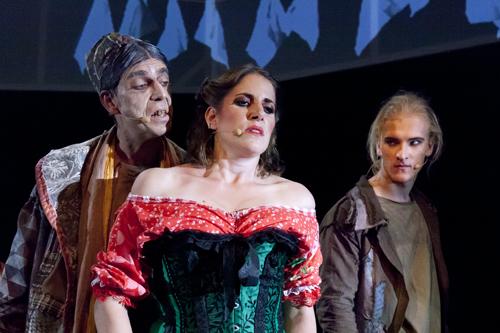 Fagin, Nancy und Bill Sikes