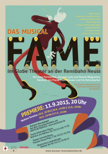 Fame - Das Musical - Premiere im Globe Theater Neuss im September 2015