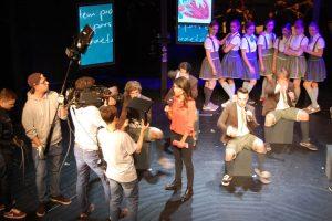 Der WDR berichtete am 7. September live von der Probe für Spring awakening aus dem Neusser Globe-Theater