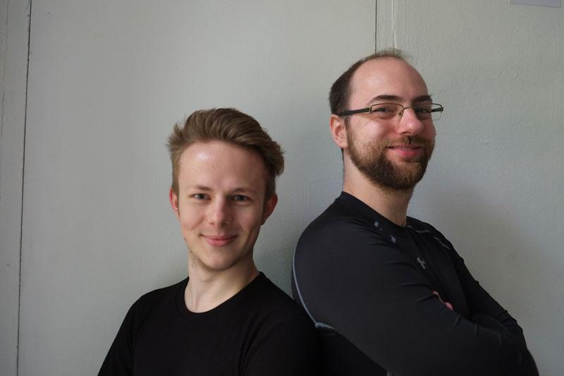 """Ole Glitza und Marc-Oliver Teschke spielen """"Dideldi und Dideldum"""""""